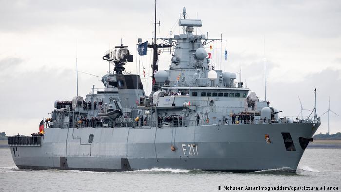 German frigate Bayern