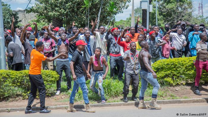 Sambia Unruhen in Lusaka