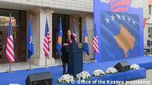 Verleihung der Präsidentenmedaille für Beau Biden in Prishtina
