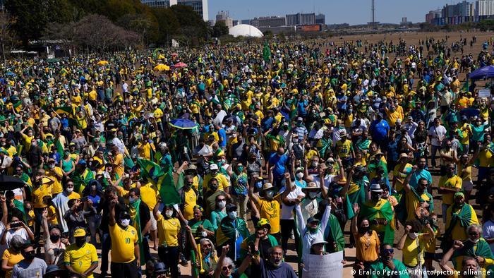 Brasilien Proteste für Jair Bolsonaro