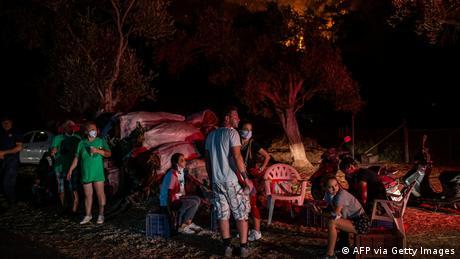 Türkei   Waldbrände   Marmaris   Evakuierung