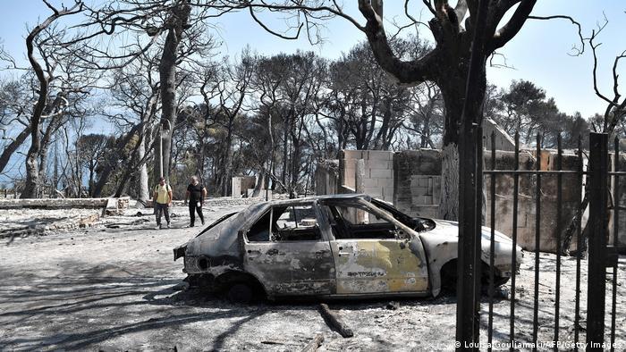 Griechenland | Waldbrände | Lambiri