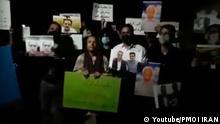 Proteste in der iranischen Stadt Mashhad. 01.08.2021 - Quelle: Youtube https://www.youtube.com/watch?v=pLv0nN8dQLI