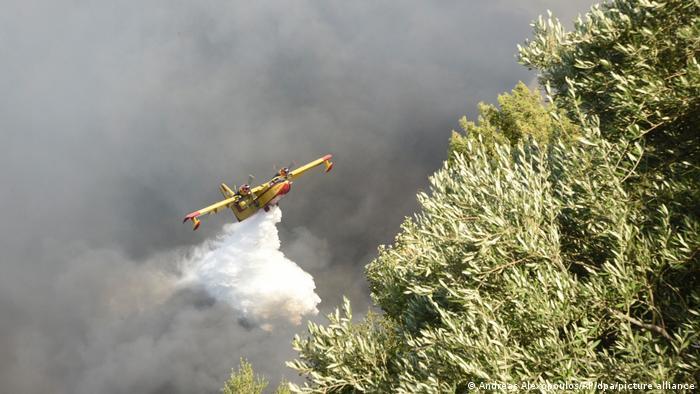 Patras, Griechenland | Waldbrände