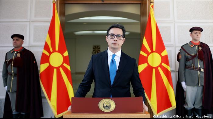 Stevo Pendarovski - Staatspräsident von Nord-Mazedonien