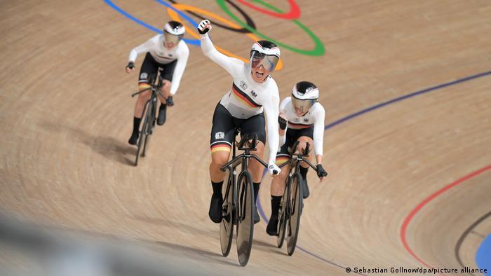 Tokio 2020 | Radsport | Bahn-Vierer der Frauen fährt Weltrekord