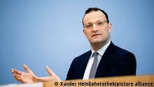 21/07/2021 Bundesgesundheitsminister Jens Spahn (CDU) im Rahmen der Bundespressekonferenz. Berlin, 21.07.2021.