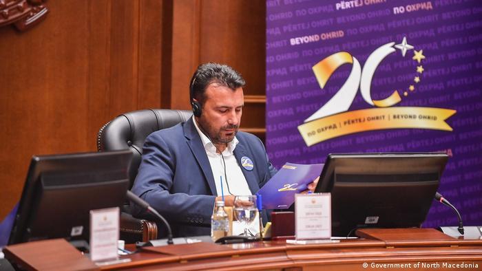 Sondersitzung der mazedonischen Regierung