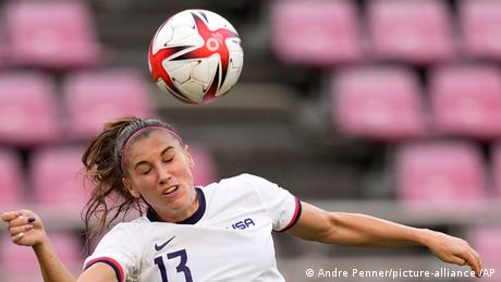 <div>Tokyo Olympics digest: Team USA women's football misses out on gold medal final</div>