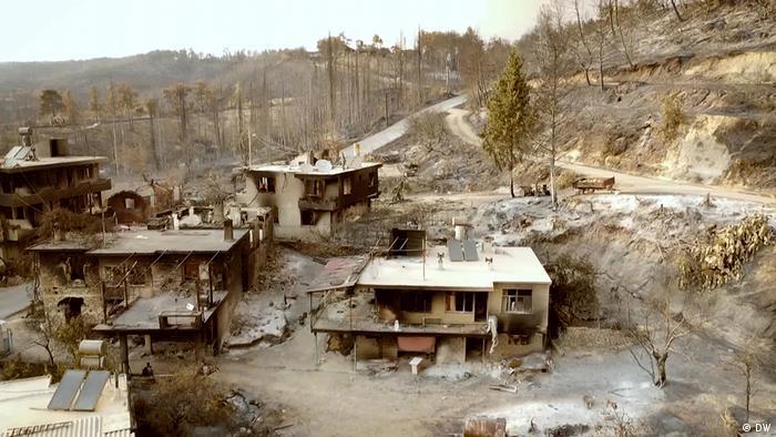 Türkei Brandschäden