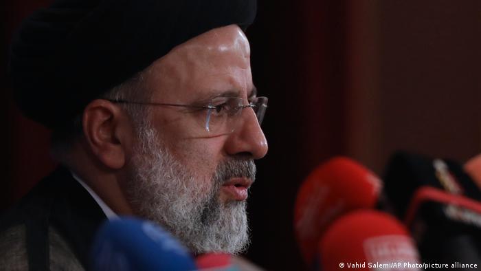 Teheran, Iran   Ebrahim Raisi   neu gewählter Präsident