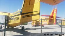 Die Bilder zeigen defekte Löschflugzeuge, die gegen Waldbraende in der Türkei nicht benutzt werden. ***Rechtefrei für DW.***