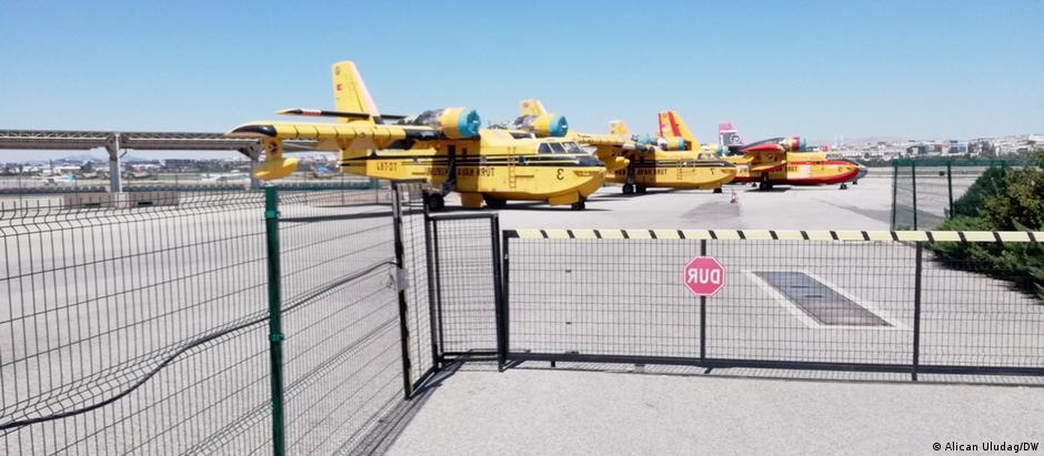 THK'nın bakımı yapılmadığı için kullanılamayan uçakları