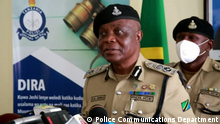 Inspector General of Police in Tanzania - IGP Simon Sirro. The Photos have been provided by the Police Communications Department.