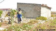 Hunderte von Familien, die auf Friedhöfen in Malanje, Angola, leben, wurden vertrieben. --- Wann wurde das Bild gemacht: 28.07.2021 Wo wurde das Bild aufgenommen: Malanje / Angola