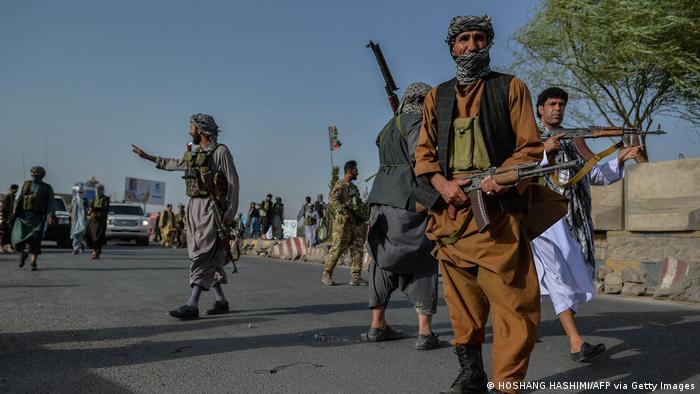 Afghanische Sicherheitskräfte in der Provinz Herat