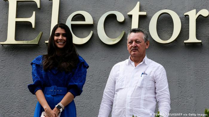 Nicaragua Oscar Sobalvarro und Berenice Quezada