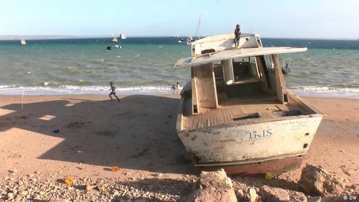 Treibstoffunfall in der Bucht von Pemba, Nordmosambik