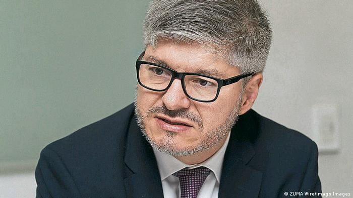 Juan Carlos Salazar Gomez Generalsekretär von der Amt für Zivilluftfahrt der UN