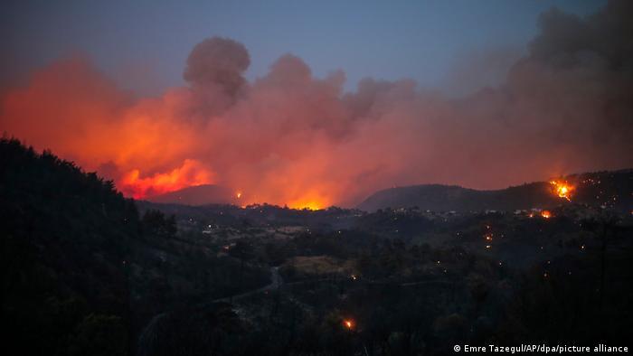 Waldbrände in der Türkei