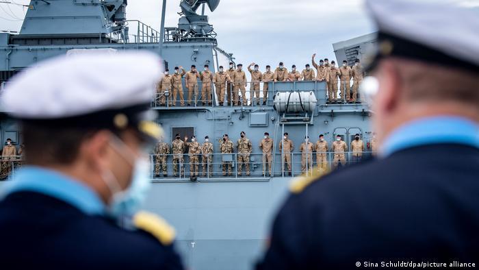 WS | Deutschland Fregatte «Bayern» sticht in See
