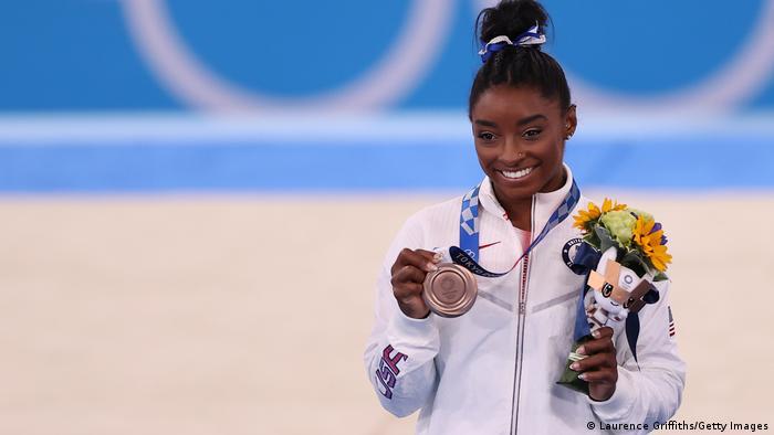 Tokio 2020 - Olympia - Turnerin Simone Biles