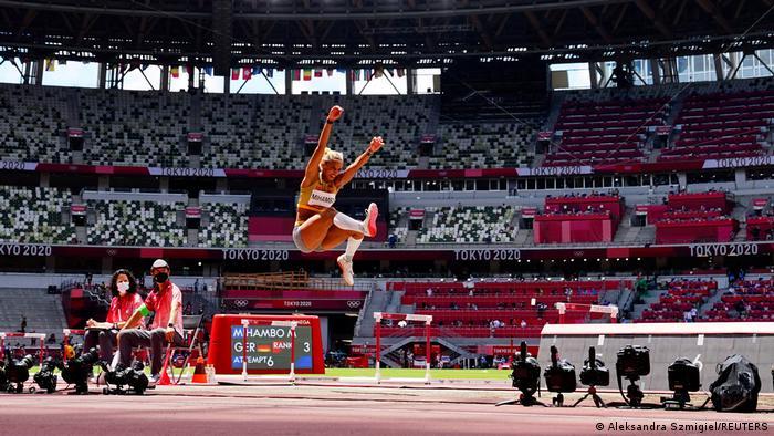 Olympia 2020 Tokio   Malaika Mihambo, Deutschland Weitsprung