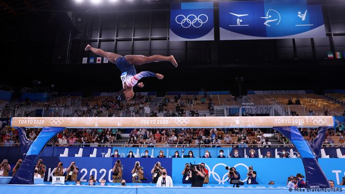 Olympia 2020 Tokio | Simone Biles, USA Schwebebalken