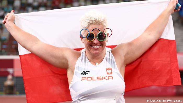 Anita Wlodarczyk, campeona en Londres 2012, Río 2016 y Tokio 2020.