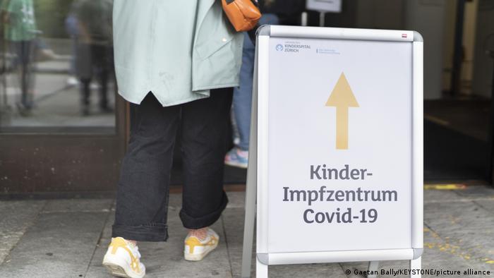 Schweiz Zürich   Corona-Impfung für Jugendliche