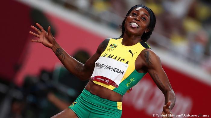 Tokio Olympia 2020   Leichtathletik Damen 200m   Thompson-Herah Elaine
