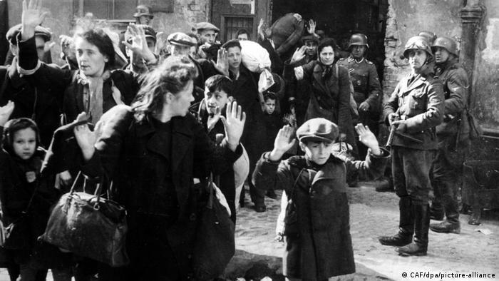 Eврейски жени във Варшавското гето, 1943 година