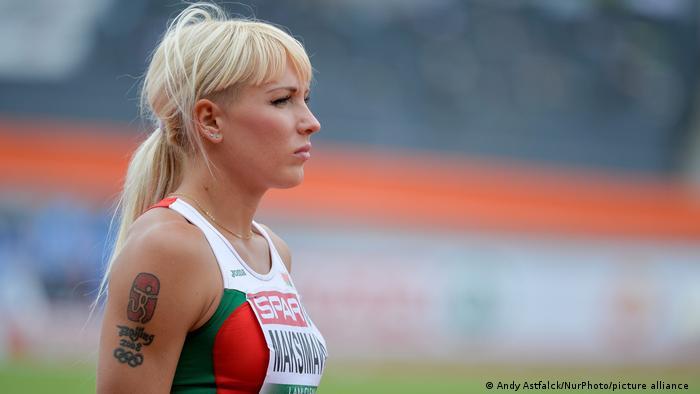 Яна Максимова на чемпионате Европы по легкой атлетике в Амстердаме в 2016 году