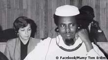 Fotos des tschadischen Gegners Tom Erdim. Copyright: die Facebook-Seite seiner Tochter Mamy Tom Erdimi.