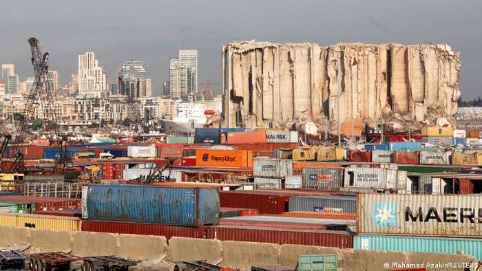 WS Libanon Gedenken Explosion Hafen