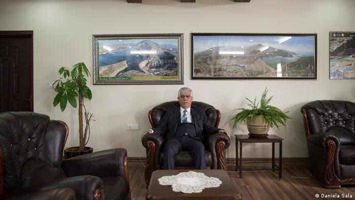 Akram Ahmed Rasul, director general de la Dirección de Presas y Embalses del GRK.