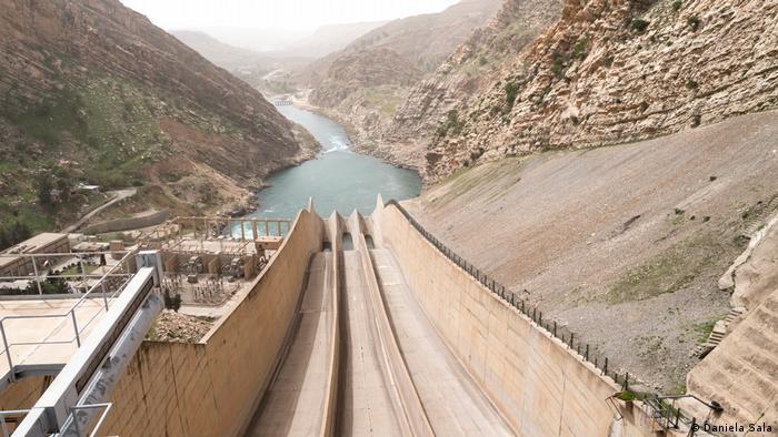 Presa de Darbandikhan, Región del Kurdistán iraquí.