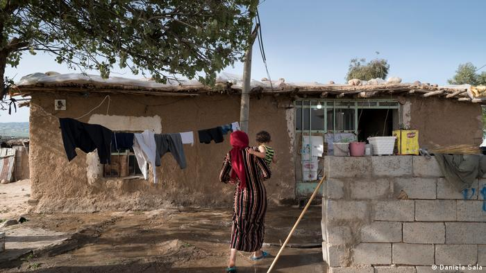 Pueblo de Topkhana, Región Autónoma del Kurdistán, en el norte de Irak.