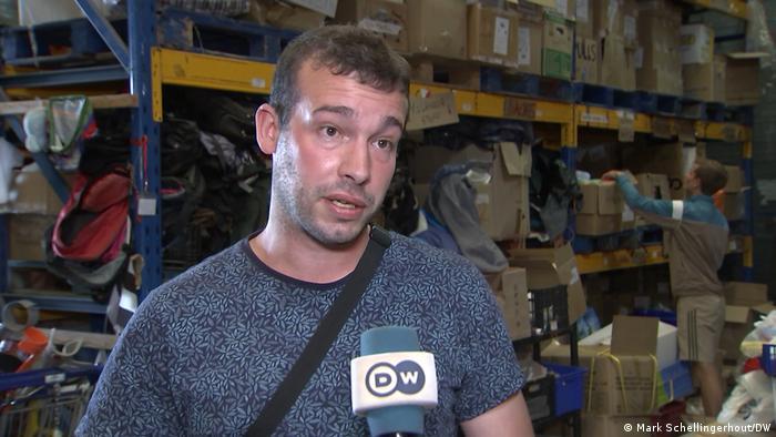 Pierre Roques im DW-Interview