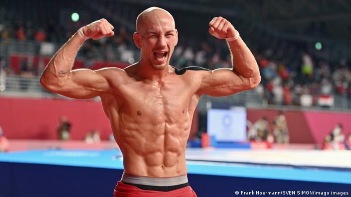 Бронзовый призер Олимпиады в Токио в греко-римской борьбе в весовой категории до 67 кг Франк Штеблер