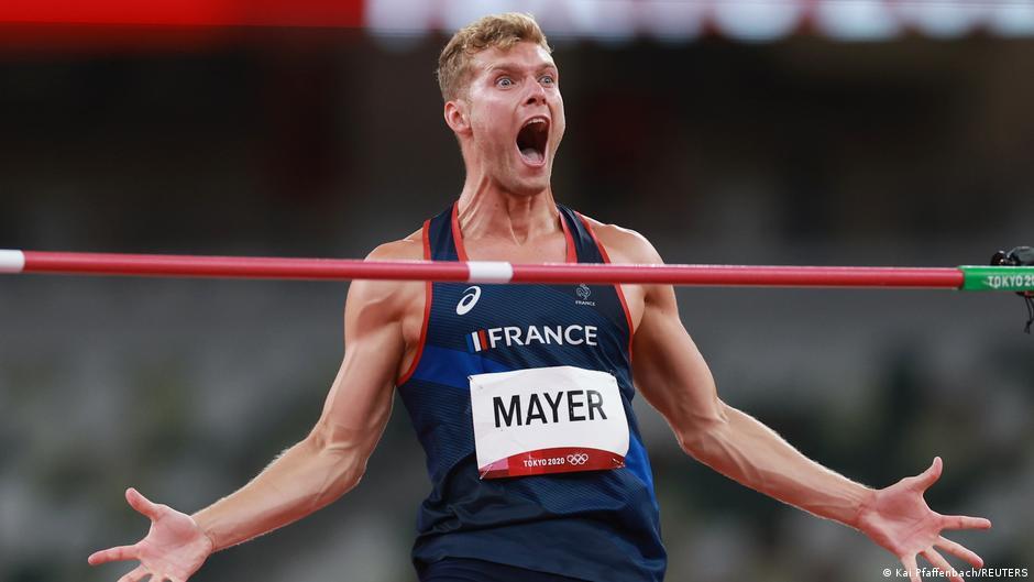 Olympia 2020 Tokio | Kevin Mayer, Frankreich | Zehnkampf, Hochsprung