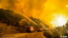 04.08.2021***Manavgat-Antalya, Türkei, Waldbrände - ANTALYA'NIN MANAVGAT ILCESINDEKI ORMAN YANGINLARI, 8'NCI GUNUNE GIRDI.(FOTO:ANTALYA-DHA)