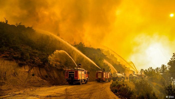 Manavgat-Antalya, Türkei | Waldbrände