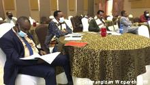 Ethiopian cities association´s meeting Autor/Copyright:- Shewangizaw Wegayehu (DW correspondent in Hawassa) 04.08.21)