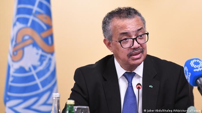 Dünya Sağlık Örgütü (DSÖ) Genel Direktörü Tedros Adhanom Ghebreyesus