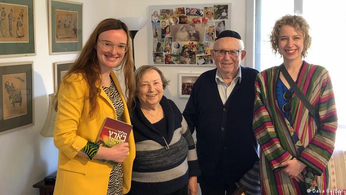 Holocaust Überlebenden Abraham Carmi