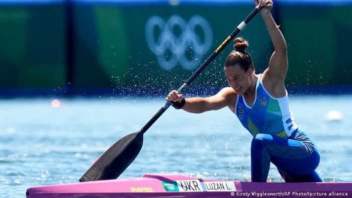 Людмила Лузан на Олімпіаді в Токіо