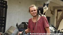 Indien | Weltenbummler Martin Klauka mit Katze Mogli