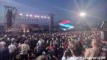 """05.08.2021*** Gedenkfeier für die Opfer der militärischen Operation """"Oluja"""" in Kroatien (1995) in Busije/Serbien"""