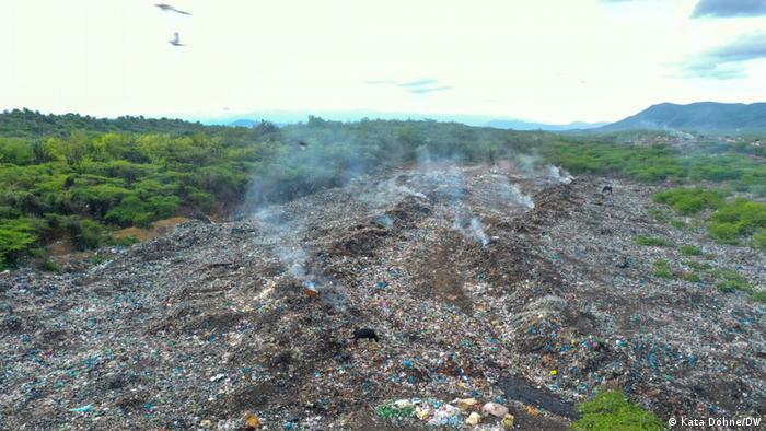 Waste dump, Dominican Republic